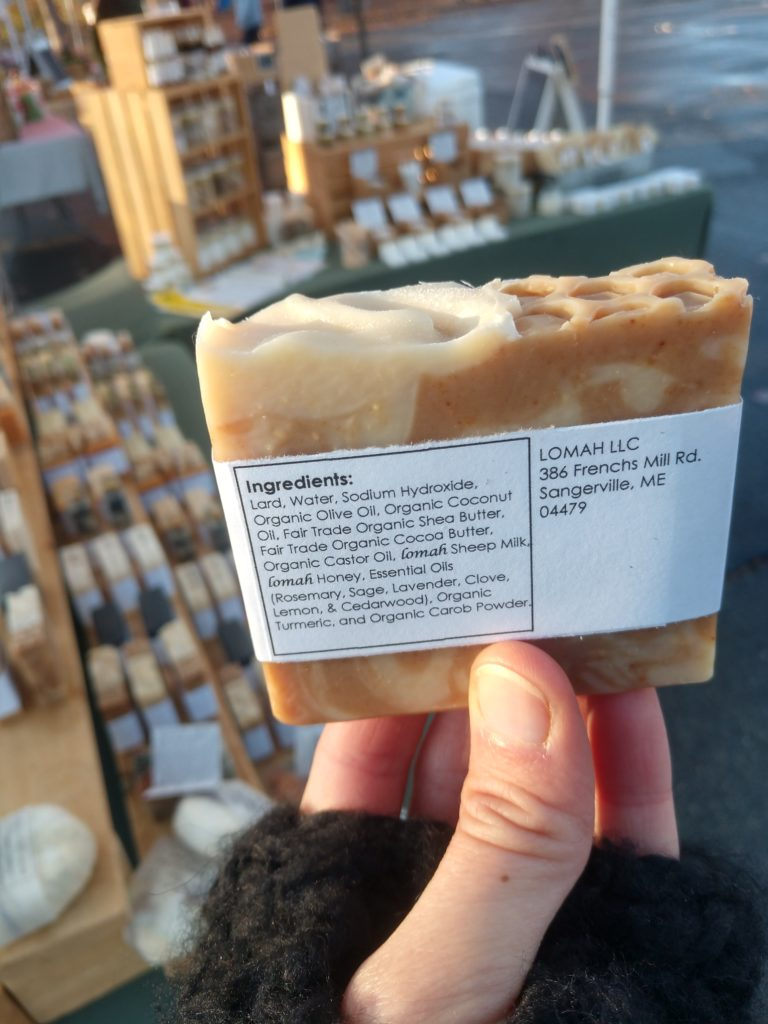 Soap with our milk & honey!